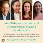 Mindfulness Seminar Flyer - January 12, 2020